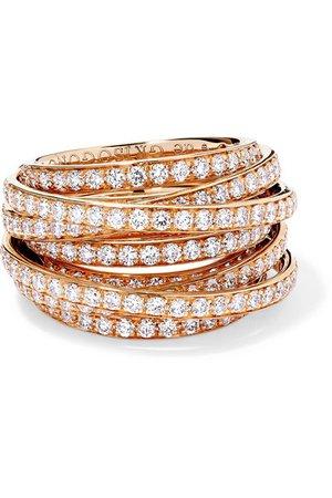 de GRISOGONO | Allegra 18-karat rose gold diamond ring | NET-A-PORTER.COM