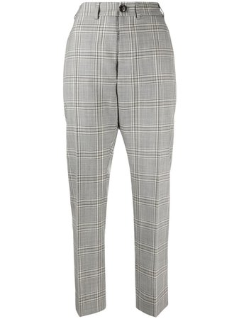 Vivienne Westwood Check Print Tailored Trousers - Farfetch