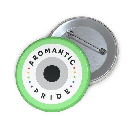 Aromantic Pride LGBT Pride Pin Button Perfect Gift | Etsy