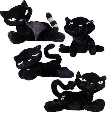 Emily the Strange 8-inch Plush Black Cats Case - Entertainment Earth