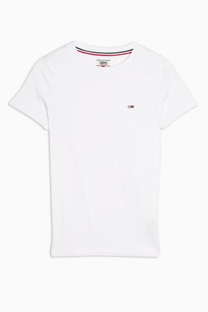 White Classic T-Shirt by Tommy Jeans | Topshop