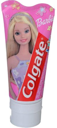 barbie Colgate toothpaste filler