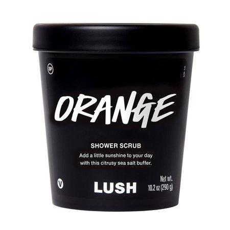 Orange | Shower Scrub | Lush Cosmetics