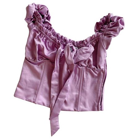 Purple synthetic top I.Am.Gia Purple size XS International in Synthetic - 9096342