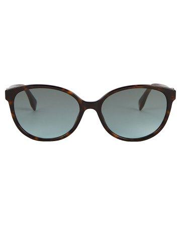 Fendi | Havana Cat Eye Sunglasses | INTERMIX®