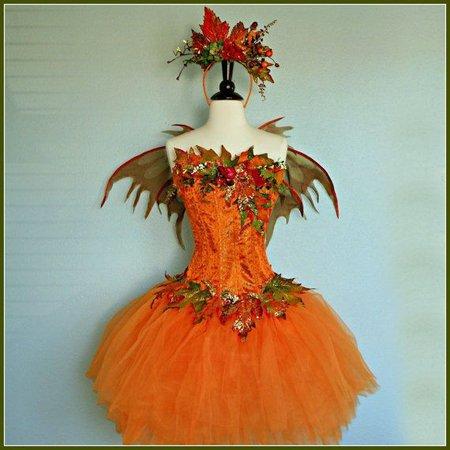 diy woodland fairy costume autumn - Google Search