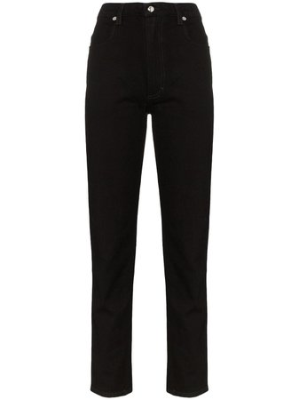 Eckhaus Latta high-waist straight-leg Jeans - Farfetch