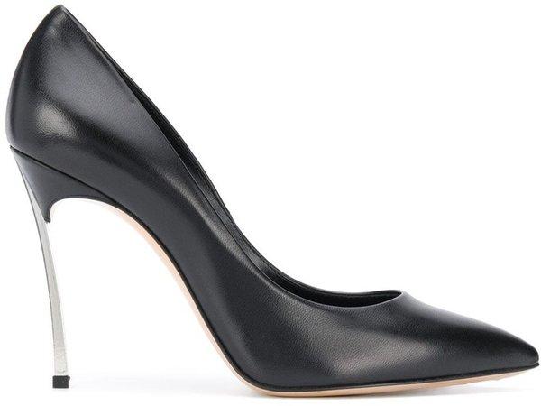 Blade heel pumps