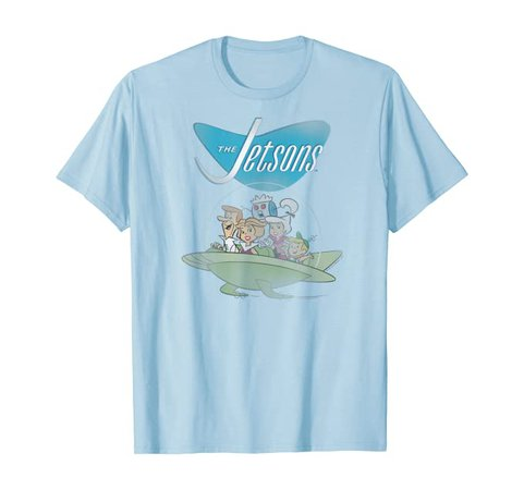 Amazon.com: The Jetsons Ship T-Shirt: Clothing
