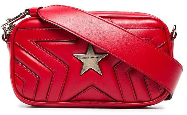 red star PU crossbody bag