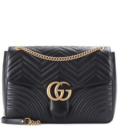Gg Marmont Matelassé Leather Shoulder Bag - Gucci | mytheresa.com