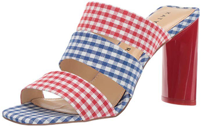 Amazon.com | Katy Perry Women's The Cali Heeled Sandal | Sandals