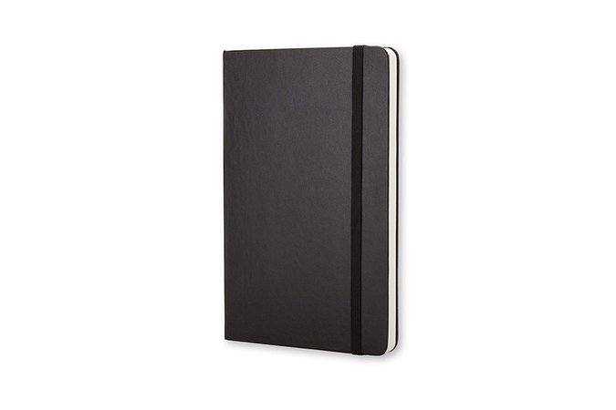 "Amazon.com : Moleskine Classic Hard Cover Notebook, Dotted, Large (5"" x 8.25"") Black - Hard Cover Notebook for Writing, Sketching, Journals : Office Products"