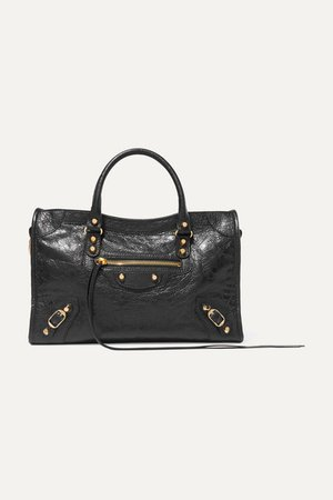Balenciaga | Classic City textured-leather tote | NET-A-PORTER.COM