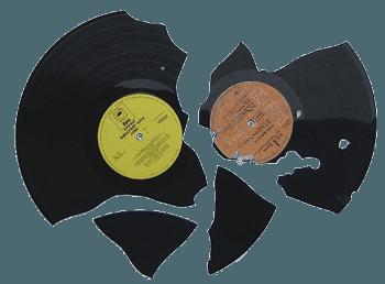 Broken record png 2 » PNG Image