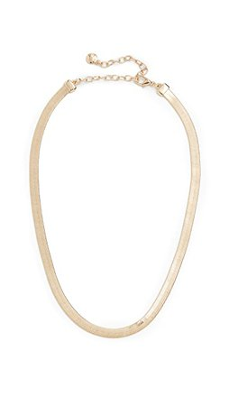 BaubleBar Gia Herringbone Necklace | SHOPBOP