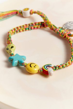 Venessa Arizaga Don't Stop Believing Bracelet | Urban Outfitters