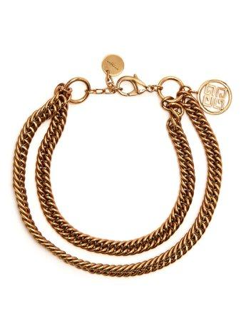 Double-chain choker | Givenchy | MATCHESFASHION.COM FR