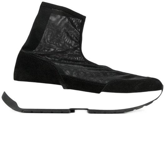 mesh sock sneakers