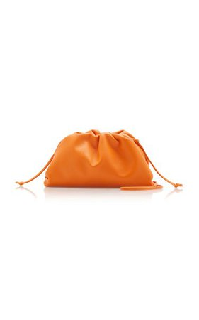 The Mini Pouch Leather Clutch By Bottega Veneta | Moda Operandi