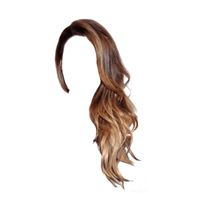 brown hair png ombre