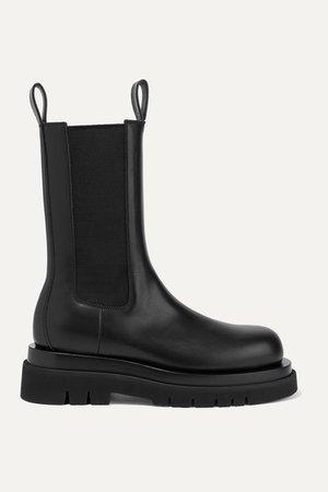 Bottega Veneta | Leather ankle boots | NET-A-PORTER.COM
