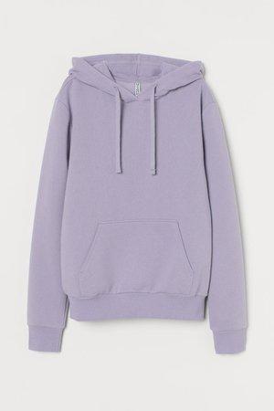 Hoodie - Lavender - Ladies | H&M US