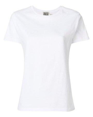 Lyst - Fausto Puglisi Sun Print T-shirt in White