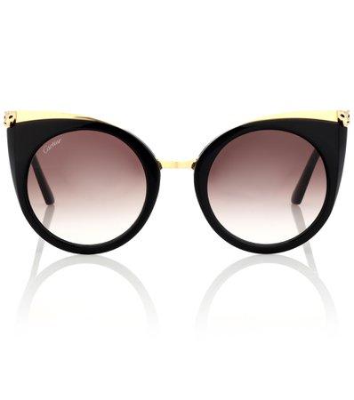Panthère De Cartier Cat-Eye Sunglasses - Cartier Eyewear Collection   mytheresa