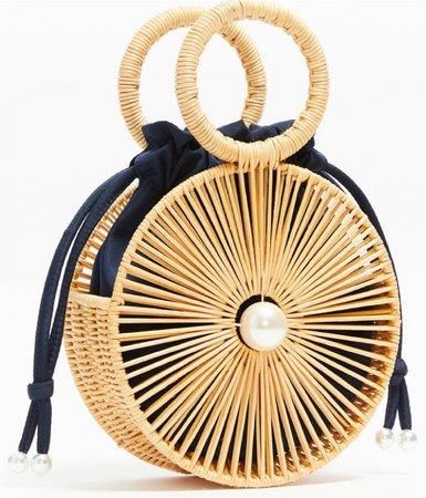 straw black bag