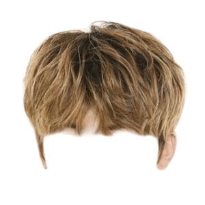 Light Brown Boy Hair