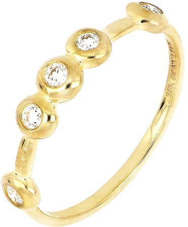 Katharine Diamond Band Ring