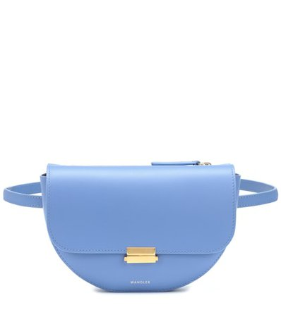 Anna Buckle leather belt bag