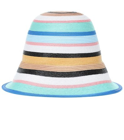 Striped hat