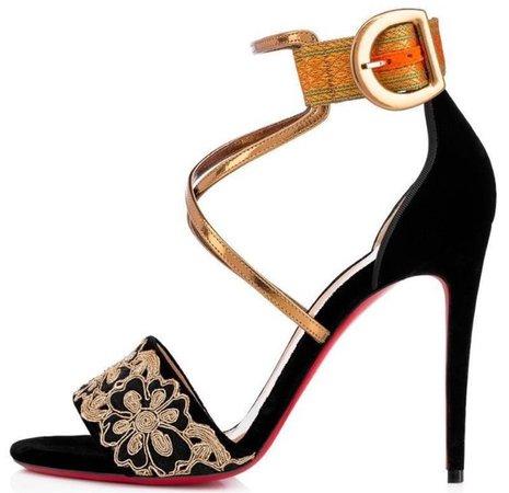 Christian Louboutin Sabina Velvet sandal