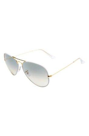 Ray-Ban Pilot 62mm Aviator Sunglasses | Nordstrom