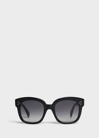 Oversized Sunglasses in Acetate | CELINE Official Website