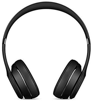 Amazon.com: Beats Solo3 Wireless On-Ear Headphones - Black (Renewed): Electronics