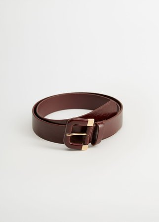 Metal buckle belt - Plus sizes | Violeta by Mango USA