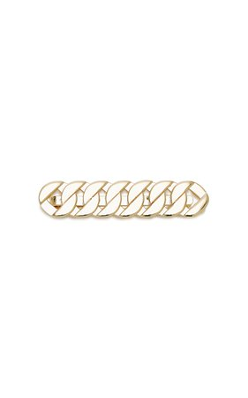 Saskia Diez Grand Gold-Plated Hair Clip