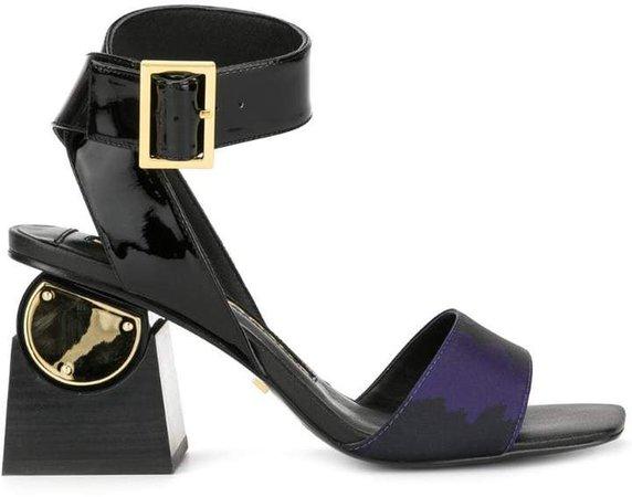 Nyla block heel sandals