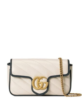 Gucci Super GG Marmont Mini Bag - Farfetch