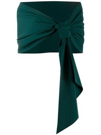Green Le Petite Robe Di Chiara Boni Eva jersey scarf - Farfetch