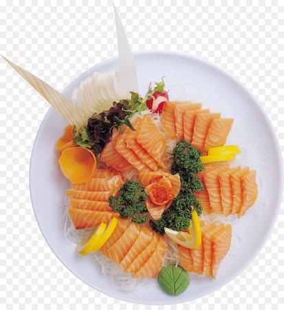 Sashimi Japanese Cuisine Sushi Smoked salmon Makizushi - sushi png download - 2317*2485 - Free Transparent Sashimi png Download.