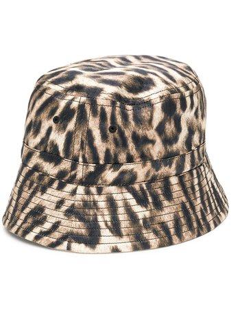 R13 Sombrero De Pescador Con Animal Print - Farfetch