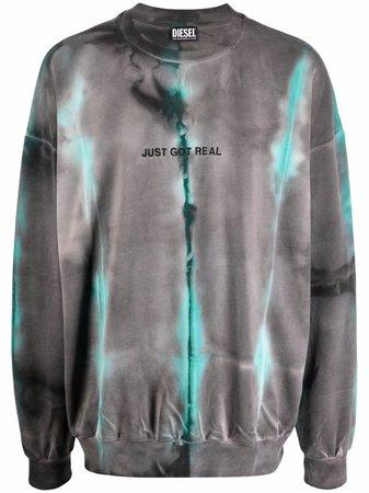 Diesel tie-dye sweatshirt - FARFETCH