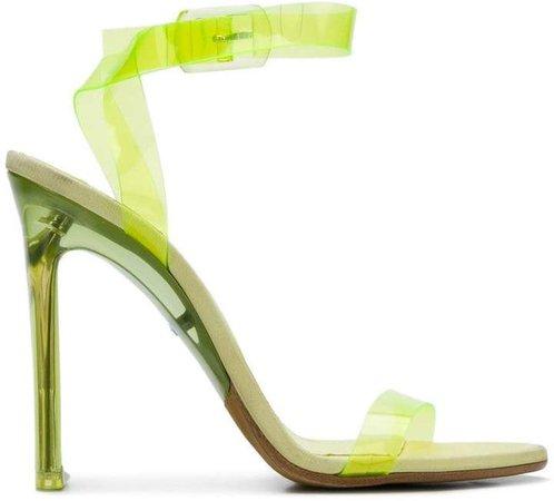 transparent PVC sandals