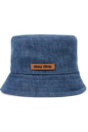 Miu Miu | Denim bucket hat | NET-A-PORTER.COM