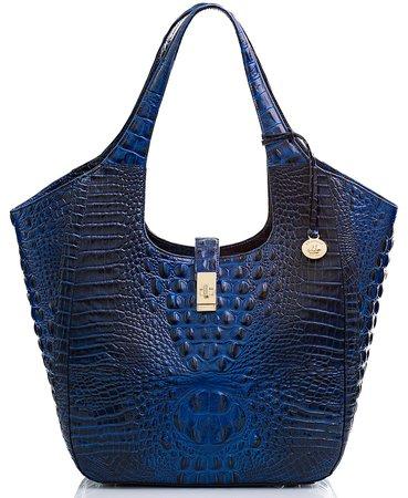 Brahmin Carla Melbourne Embossed Leather Tote & Reviews - Handbags & Accessories - Macy's