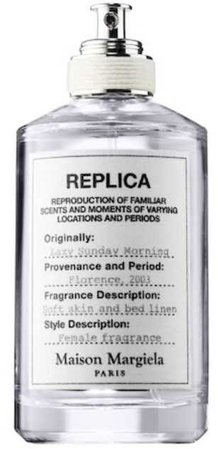maison margiela lazy sunday morning replica perfume eau de parfum scent candle